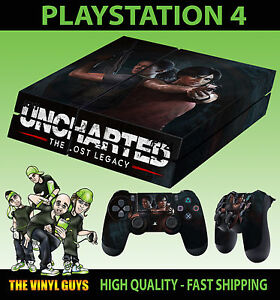 Video Game Accessories Pad Vinyl Decalslaid Numerous In Variety Ps4 Skin Uncharted 4 The Lost Legacy Chloe Nadine Sticker Video Games & Consoles