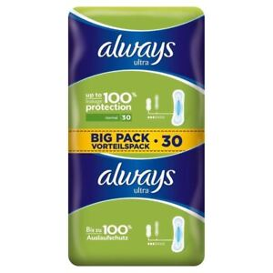 Always-Ultra-Normal-Sanitary-Towels-2-x-15-per-pack-PACK-OF-6