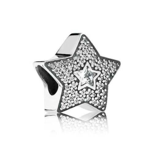PUT6001125 12 Pcs 15x17 mm Zinc Alloy Dotted Star Charms