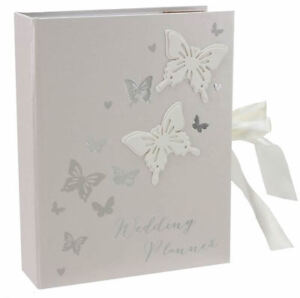 Image Is Loading BUTTERFLY WEDDING PLANNER ORGANISER DIARY Wings Of Love