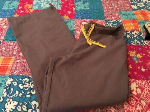 WonderWink Women's Nurse Scrub Pants Small Gray St