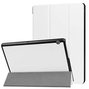 Smart-Cover-Per-Huawei-Mediapad-T3-10-9-6-Penna-Custodia-Protettiva-Pellicola