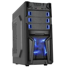 Nvidia VR READY Gaming PC Computer Desktop Quad Core AMD 4.0 GHz 8GB 500GB