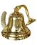 Antique Brass Wall Bell Vintage Ship/'s School Pub Last Orders Dinner Door 6 inch