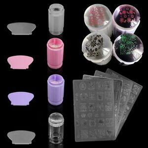 3pcs-Set-Nail-Art-Stamping-Image-Plates-amp-Stamper-Scraper-Kit-Manicure-Tools-DIY