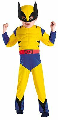 Costumes! Wolverine Superhero Muscle Costume Playset Child 3T-4T