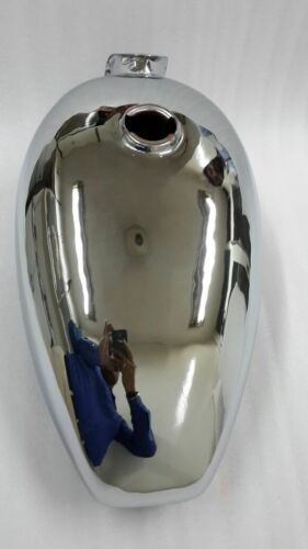 Chromed Petrol Tank For Royal Enfield Motorcycles Early 1950s-60s