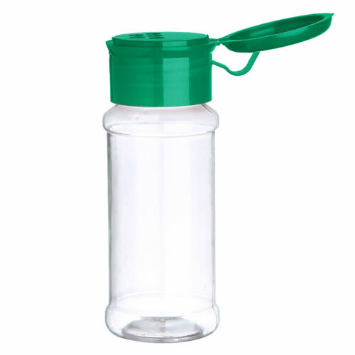 10Pcs Spice Jars Cruets Condiment Bottle Herb Storage Container with Sifter Lids