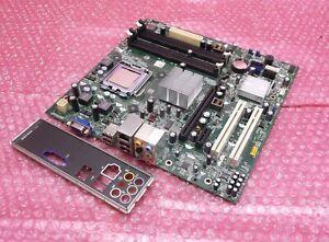 Dell-N826N-0N826N-LGA775-socket-775-DDR2-VGA-PCI-E-carte-mere-et-plaque-arriere