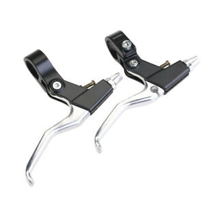 1 Pair Aluminum Alloy Bicycle Cycling MTB Brake Levers Left /& Right Handles CHT