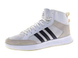 adidas COURT80S MID - EE9678 Herren Schuhe Sneaker Laufschuhe Gr 44,5 Weiß Leder