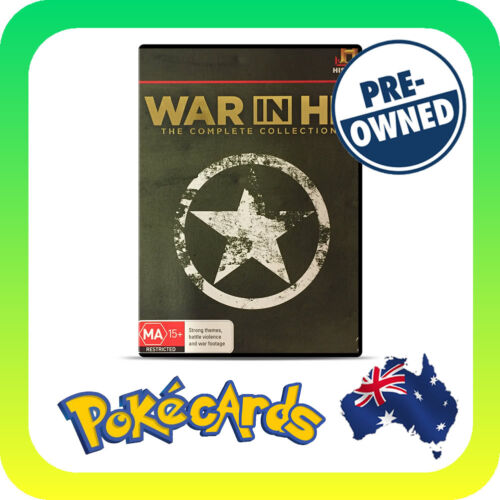 1 of 1 - War IN HD - The Complete Collection  PRE-OWNED 8 DISCS