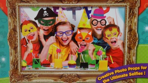 24 Piece Per Bambini Party Selfie Accessori Con Scatola Confezione- Include Rapida Dissipazione Del Calore