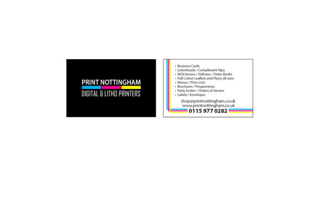 Business cards personalised 1000 double sided 350gsm card any design brand new lowest price reheart Choice Image