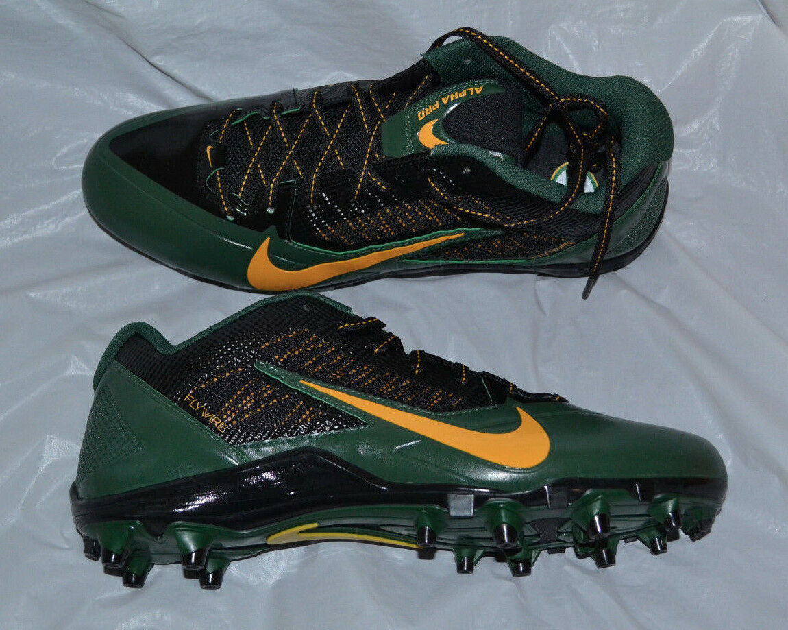 Nike alpha 618055-012 (td (nfl packers) Uomo football galloccia taglia 12 618055-012 alpha 207d84
