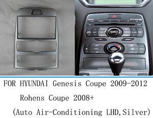 Car Radio Fascia Stereo frame facias for Hyundai Genesis Coupe Rohens Trim Kit