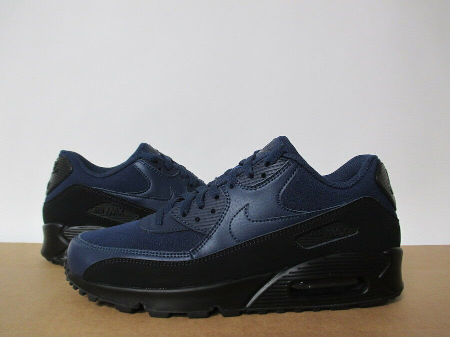 NIKE AIR MAX 90 ESSENTIAL schwarz MIDNIGHT NAVY 8-14