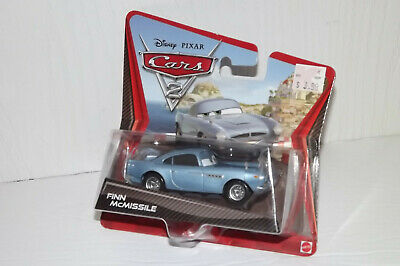 """SHIP WW DISNEY PIXAR CARS 3 /""""2 PACK FINN McMISSILE /& TOMBER/"""" IMPERFECT PACKAGE"""