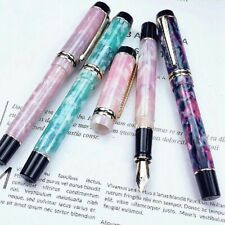 KAIGELU 316 Acrylic Fountain Pen Golden Clip EF//0.38mm /& F//0.5mm /& M//0.7mm New