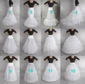RULTA Wedding Dress Petticoat Bridal Hoop Crinoline Skirt Prom Underskirt UK O1