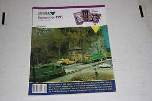 MODEL-RAILROADING-MAGAZINE-9-1995-GOOD-SHAPE