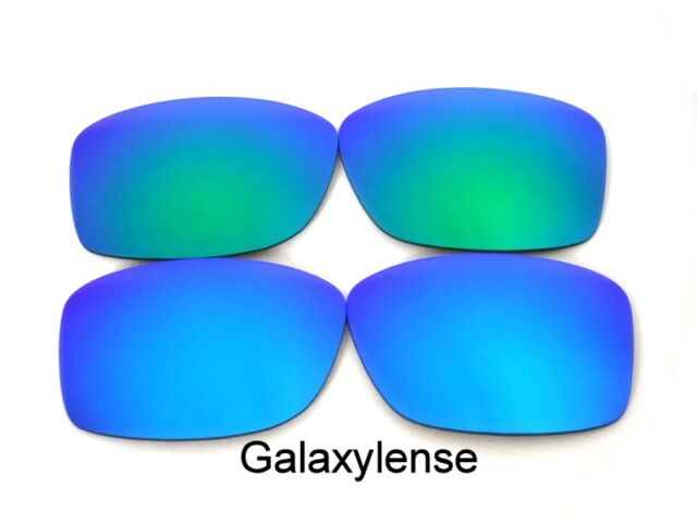 49bdc1c10a Galaxy Replacement Lenses For Oakley Jupiter Squared Blue Green Polarized  2Pair