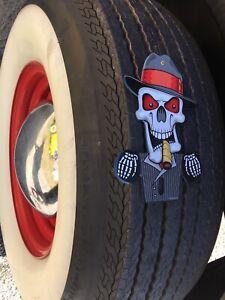 Red Devil license plate topper Lucifer Satan Car Accessory