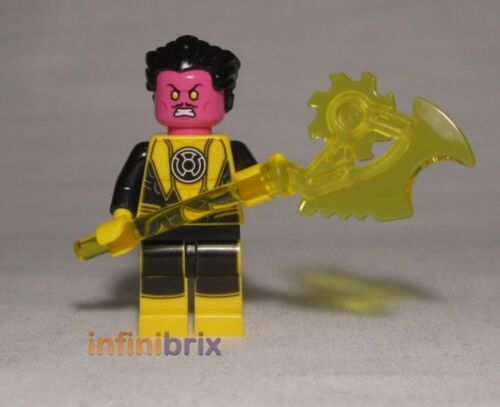 Lego Sinestro from Set 76025 Green Lantern vs Sinestro Super Hereos NEW sh144