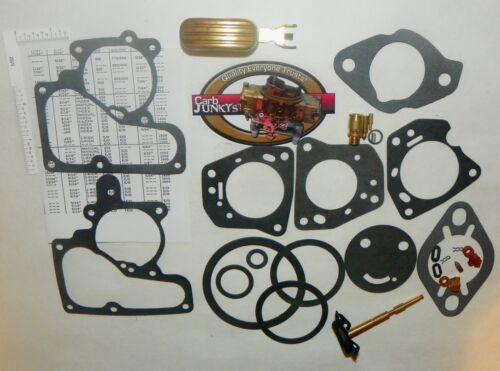 Carter YF 1962-72 1B Carburetor Repair Kit GM Chev Jeep Kaiser Ford Merc Pont