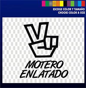 MOTERO-ENLATADO-Sticker-Vinilo-vinyl-Pegatina-Coche-Moto-Nuevo-Diseno