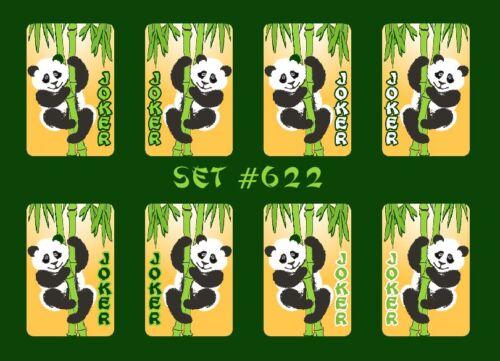 Mah Jongg Jong Mahjong Joker Stickers Panda Set #622 ** Free Shipping **