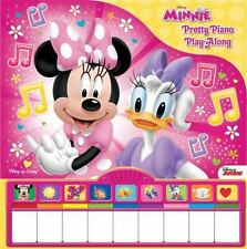 Disney Minnie Pretty Piano Play Along  Board book