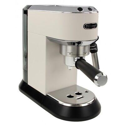 DeLonghi Siebträger Espressomaschine Espresso Dedica Style Weiß