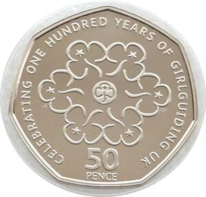 2010-British-Girlguiding-Girlguides-100th-Anniversary-50p-Fifty-Pence-Proof-Coin