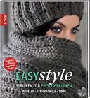Easy style: Stricken für Einsteigerinnen von Magdalena Neuner (2011, Gebundene Ausgabe)