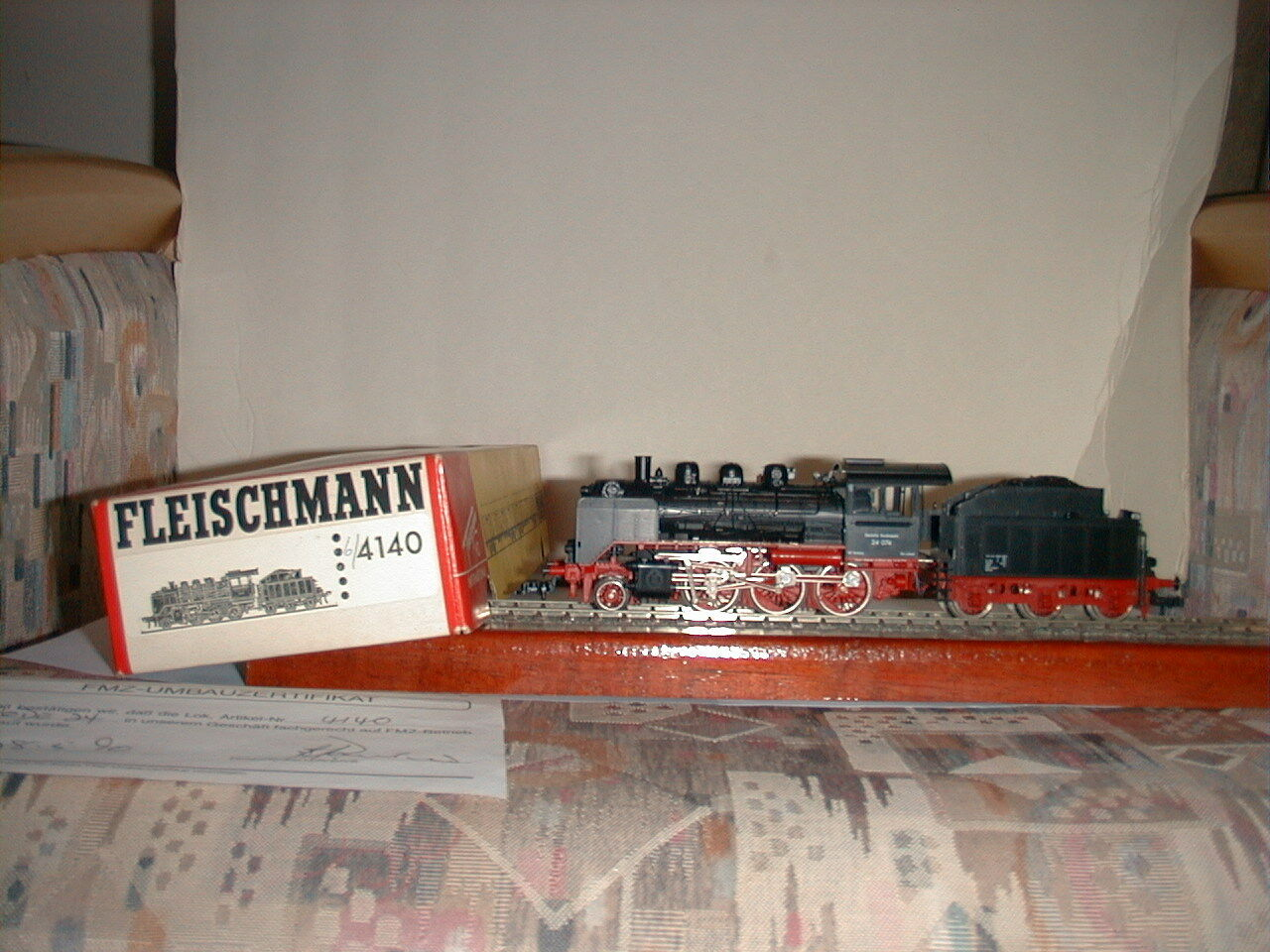 Fleischmann nr 6 4140 FMZ 2 -6 -0 Blandad trafik Wagner Deflektorer.Kod 024