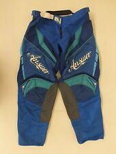 Answer MX Women's Motocross Pants Blue Size 10 GREAT Satisfaction Guaranteed