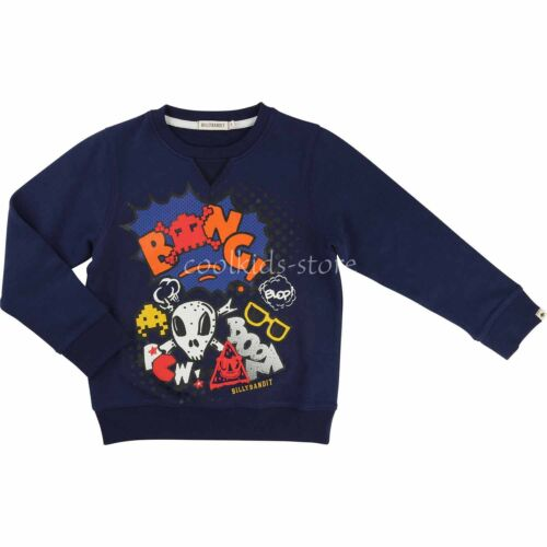 Billybandit Sweatshirt Sweater Scull Pirat blau 104 110 122 128 134 140 146 152