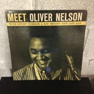 Oliver-Nelson-Meet-Oliver-Nelson-G-Vinyl-First-Pressing-New-Jazz-8224