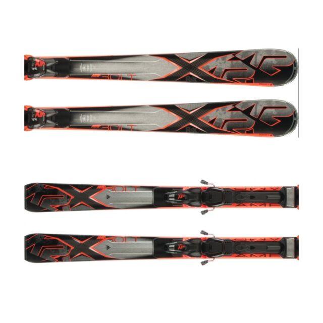 K2 AMP BOLT Set All Mountain Ski MQ Demo 12