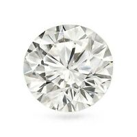 1.50 Ct H Vs2 Round Cut Loose Diamond Gal Certified