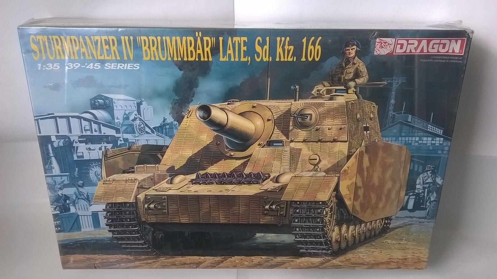 KIT DRAGON 1 35 35 35 CARRO ARMATO STURMPANZER IV   BRUMMBAR  LATE Sd.kfz.166 ART 6026 a748f7
