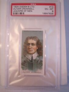 1924-OLIVER-CROMWELL-13-LEADER-039-S-OF-MEN-PSA-GRADED-6-TOBACCO-CARD-MMMM2