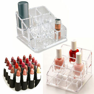9-Makeup-Cosmetic-Lipstick-Storage-Display-Stand-Rack-Holder-Organizer-Acrylic
