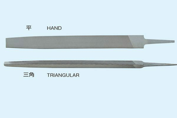 TSUBOSAN  Mill Saw Files 1 Round Edge 210 150mm - 300mm made in japan