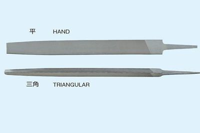 TSUBOSAN Very Thin Line Round Files 100mm 353 1.2mm 2.5mm made in  japan