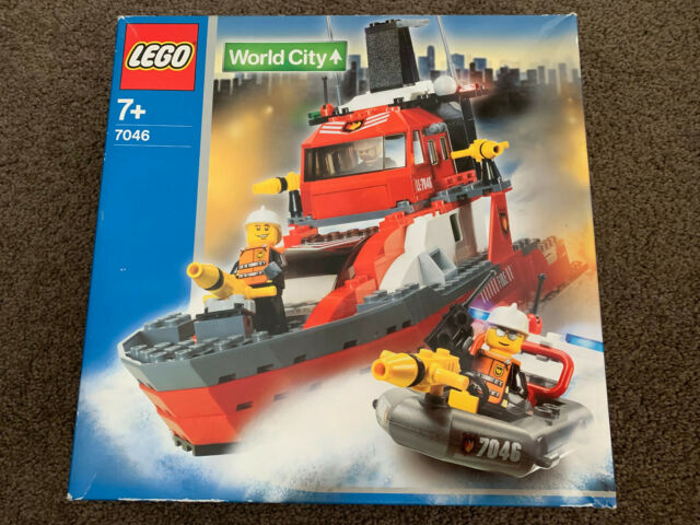 NEW Lego Town World City 7046 Fire Command Craft new Sealed