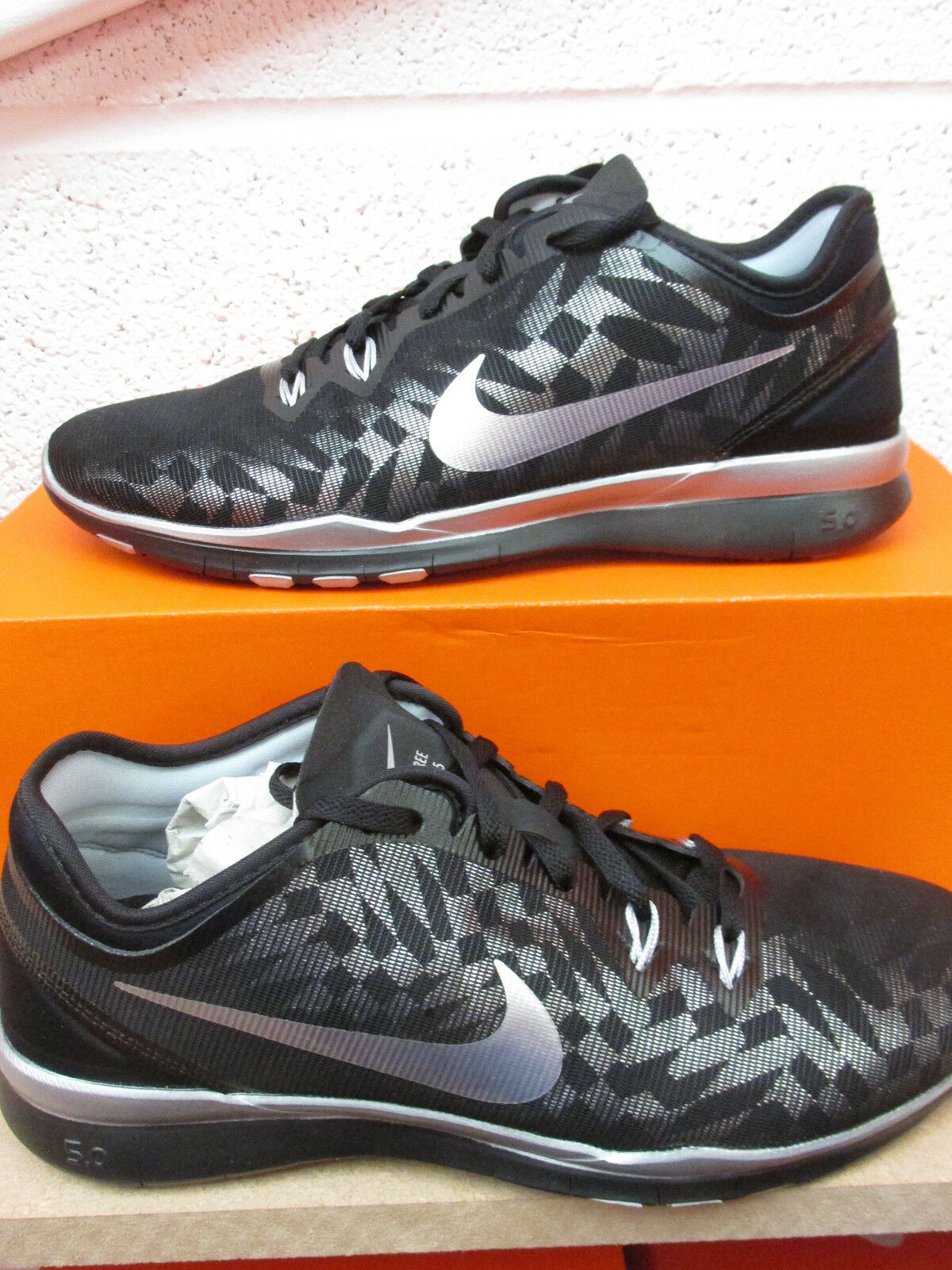 nike Femme free metallic 5.0 TR FIT 5 metallic free trainers 806277 001 Baskets chaussures 6ff537