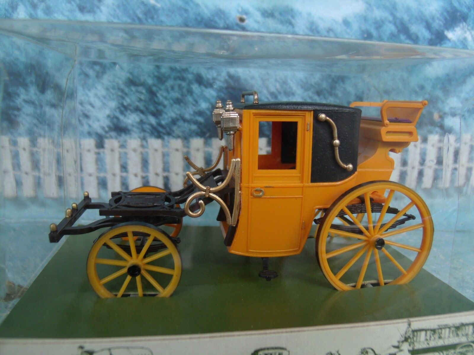 1 43 Brumm ()  Carriage coupe Dormeuse     1830 7e1502