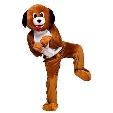 Adult Deluxe MEERKAT Charity Sporting Mascot Fancy Dress Costume Outfit Unisex